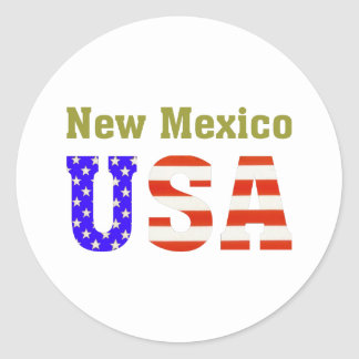 ニューメキシコ米国! ラウンドシール