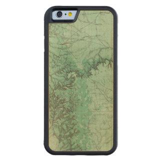 ニューメキシコ2の土地分類の地図 CarvedメープルiPhone 6バンパーケース