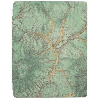 ニューメキシコ2の土地分類の地図 iPadスマートカバー