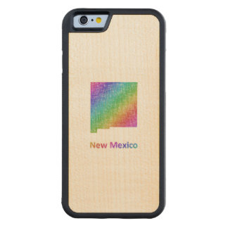 ニューメキシコ CarvedメープルiPhone 6バンパーケース