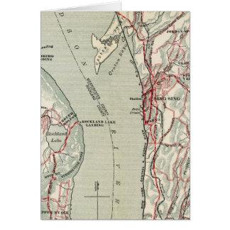 ニューヨークおよびコネチカット10の自転車の道 カード