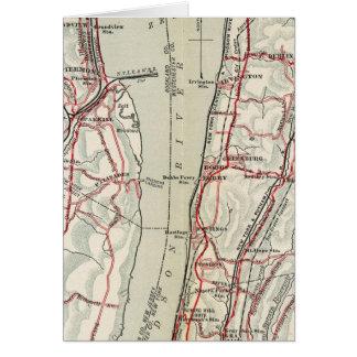 ニューヨークおよびコネチカット11の自転車の道 カード