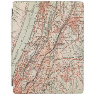 ニューヨークおよびコネチカット3の自転車の道 iPadスマートカバー