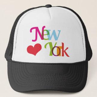 ニューヨークからのかわいい記念品の帽子 キャップ