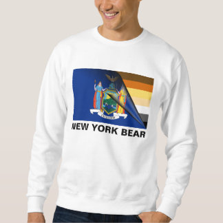 ニューヨークくまのプライドの旗 スウェットシャツ