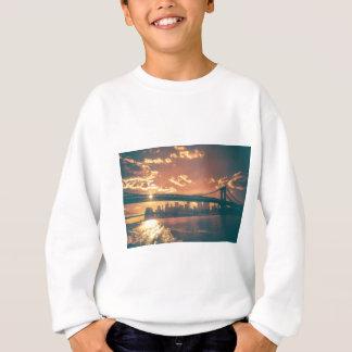 ニューヨークのおとぎ話-美しいスカイライン スウェットシャツ