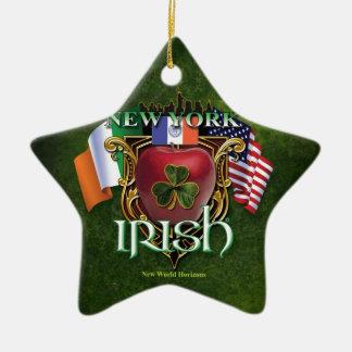 ニューヨークのアイルランド人のプライド セラミックオーナメント