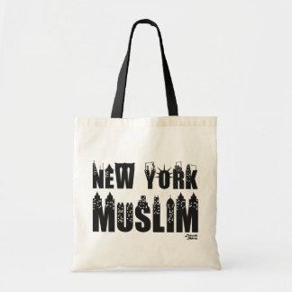 ニューヨークのイスラム教 トートバッグ