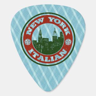 ニューヨークのイタリアンなアメリカ人 ギターピック