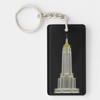 ニューヨークのエンパイア・ステート・ビルディング キーホルダー