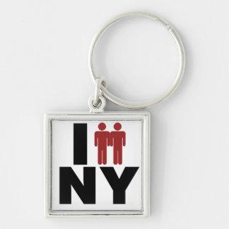 ニューヨークのゲイ同志の結婚の法律 キーホルダー