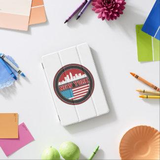 ニューヨークのスカイライン|米国は印を付けます iPad MINIカバー