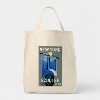 ニューヨークのスクータークラブ袋 トートバッグ