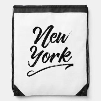ニューヨークのスタイル ナップサック