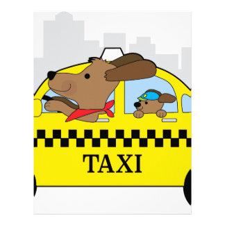 ニューヨークのタクシー犬 レターヘッド