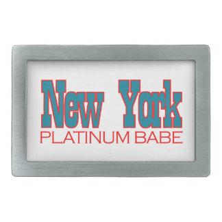 ニューヨークのデザイン 長方形ベルトバックル