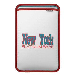 ニューヨークのデザイン MacBook スリーブ