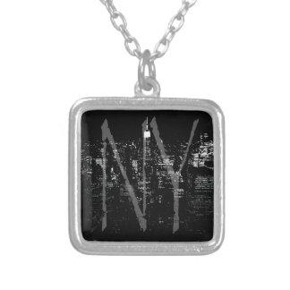 ニューヨークのネックレスのカッコいいのニューヨークの記念品のジュエリー シルバープレートネックレス