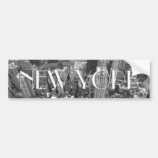 ニューヨークのバンパーステッカーのニューヨークシティのステッカー バンパーステッカー