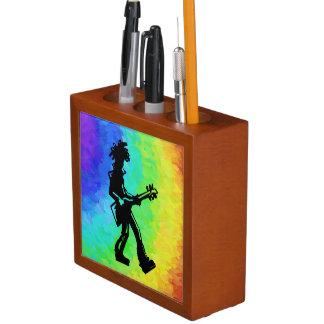 ニューヨークのブギウギ夜ギターの虹 ペンスタンド