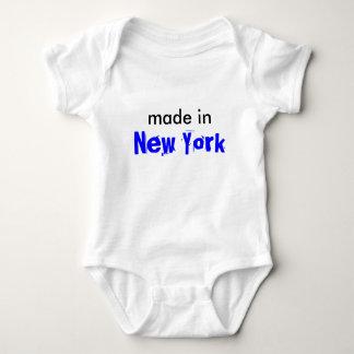 ニューヨークのベビーのワイシャツ ベビーボディスーツ