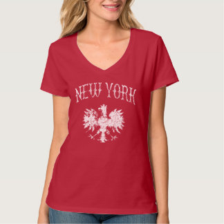 ニューヨークのポーランド語 Tシャツ