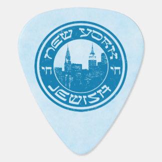 ニューヨークのユダヤ人のアメリカ人Plektrum ギターピック
