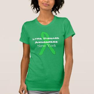 ニューヨークのワイシャツのライム病の認識度 Tシャツ