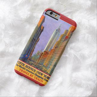 ニューヨークのヴィンテージ旅行ケース BARELY THERE iPhone 6 ケース