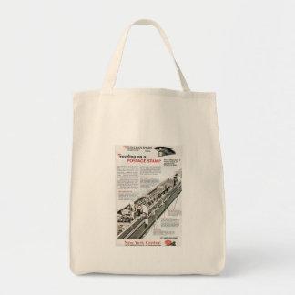 ニューヨークの中央鉄道1943年の鉄道郵便 トートバッグ