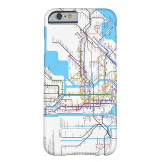 ニューヨークの地下鉄のiPhone6ケース Barely There iPhone 6 ケース