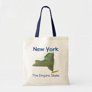 ニューヨークの地図のバッグ トートバッグ