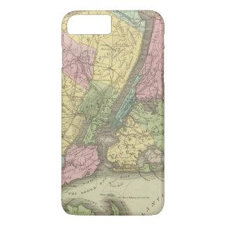 ニューヨークの地図 iPhone 8 PLUS/7 PLUSケース