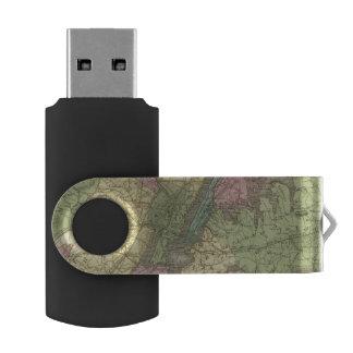 ニューヨークの地図 USBフラッシュドライブ
