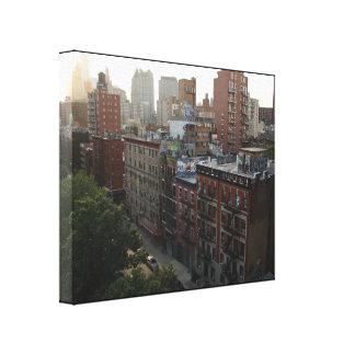 ニューヨークの屋上 キャンバスプリント