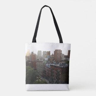 ニューヨークの屋上 トートバッグ