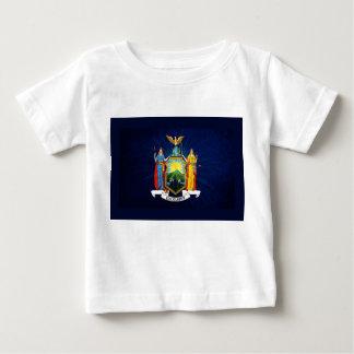 ニューヨークの旗の花火 ベビーTシャツ