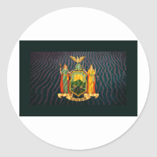 ニューヨークの旗サンディ ラウンドシール