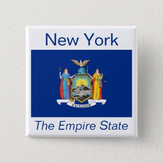 ニューヨークの旗ボタン 缶バッジ