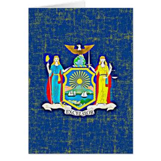 ニューヨークの旗 カード