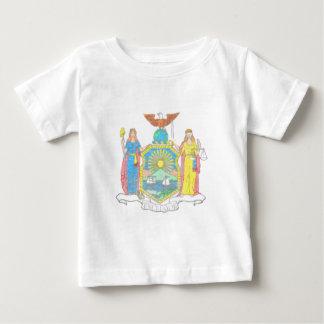 ニューヨークの旗 ベビーTシャツ