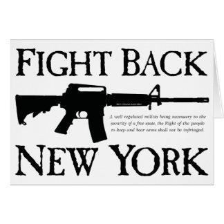 ニューヨークの暴動製品を戦って下さい カード