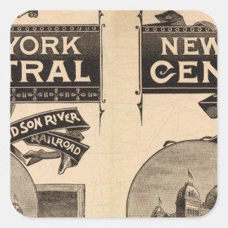 ニューヨークの本部およびハドソン川の鉄道 スクエアシール