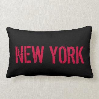 ニューヨークの枕 ランバークッション