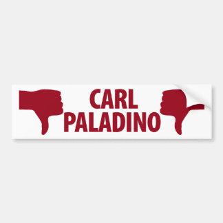 ニューヨークの知事のためのカールPaladinoないか。 バンパーステッカー