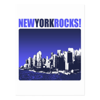 ニューヨークの石! ポストカード