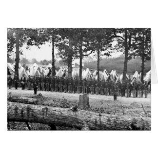 ニューヨークの第35ボランティアのキャンプ: 1860年代 カード