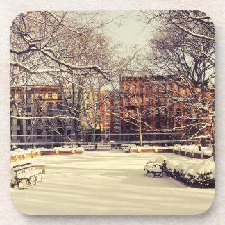 ニューヨークの美しい冬 コースター
