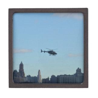 ニューヨークの観光のヘリコプター ギフトボックス