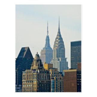 ニューヨークの超高層ビル! ポストカード